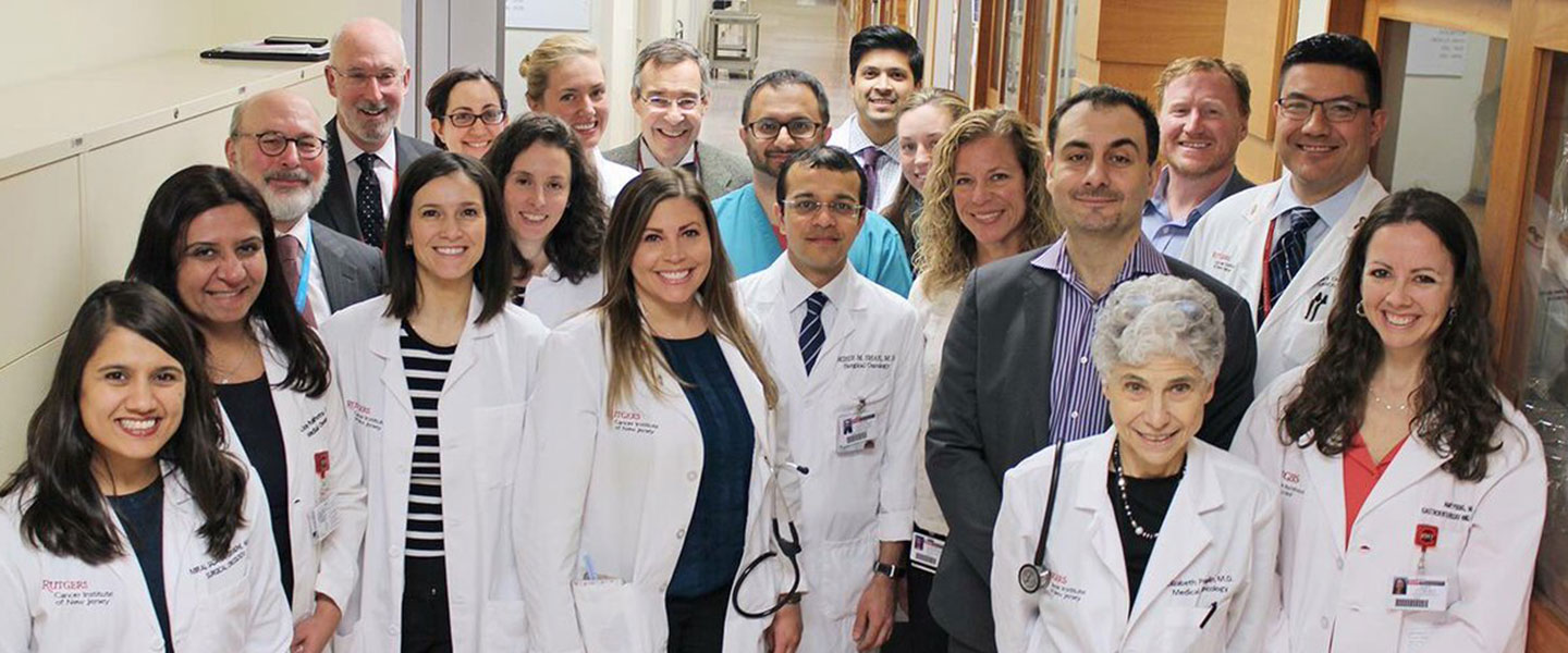 photo of the rutgers oncology staff