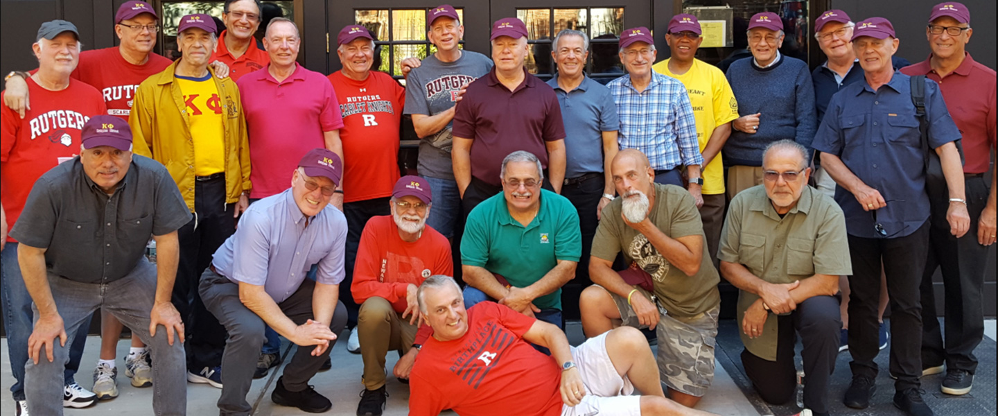 Group photo of the 2019 Kappa Phi Rutgers Reunion
