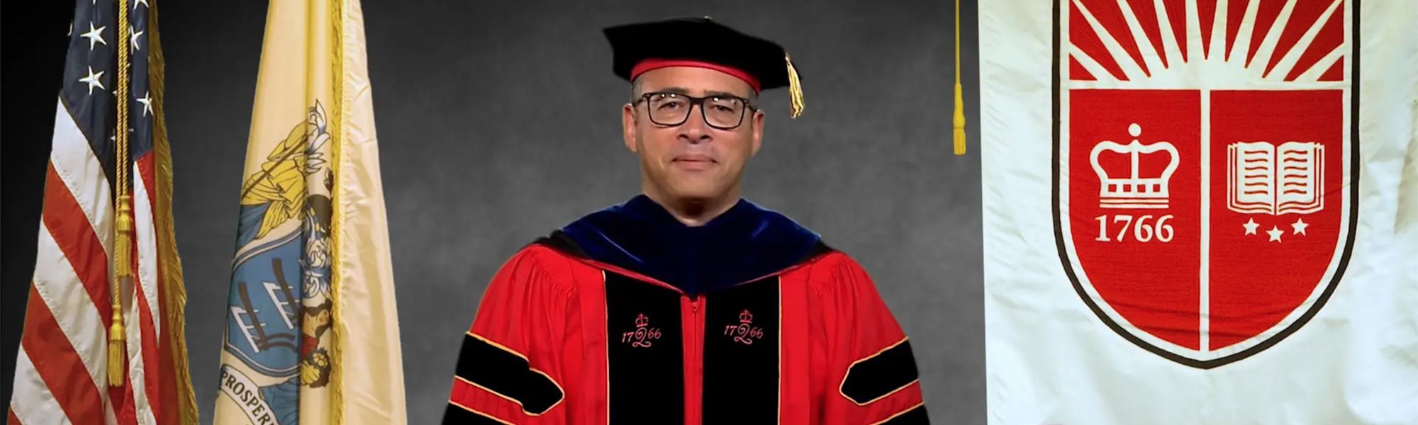 Photo of Rutgers President Jonathan Holloway