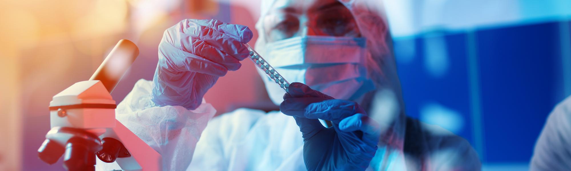 Medical science laboratory.