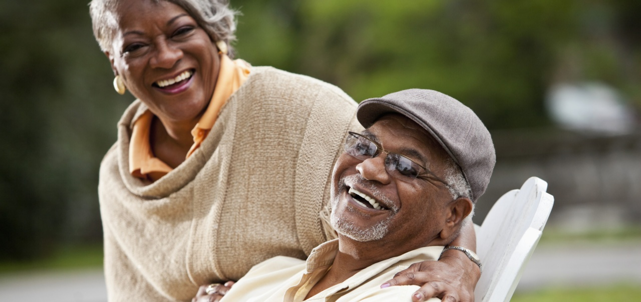 african-american senior couple