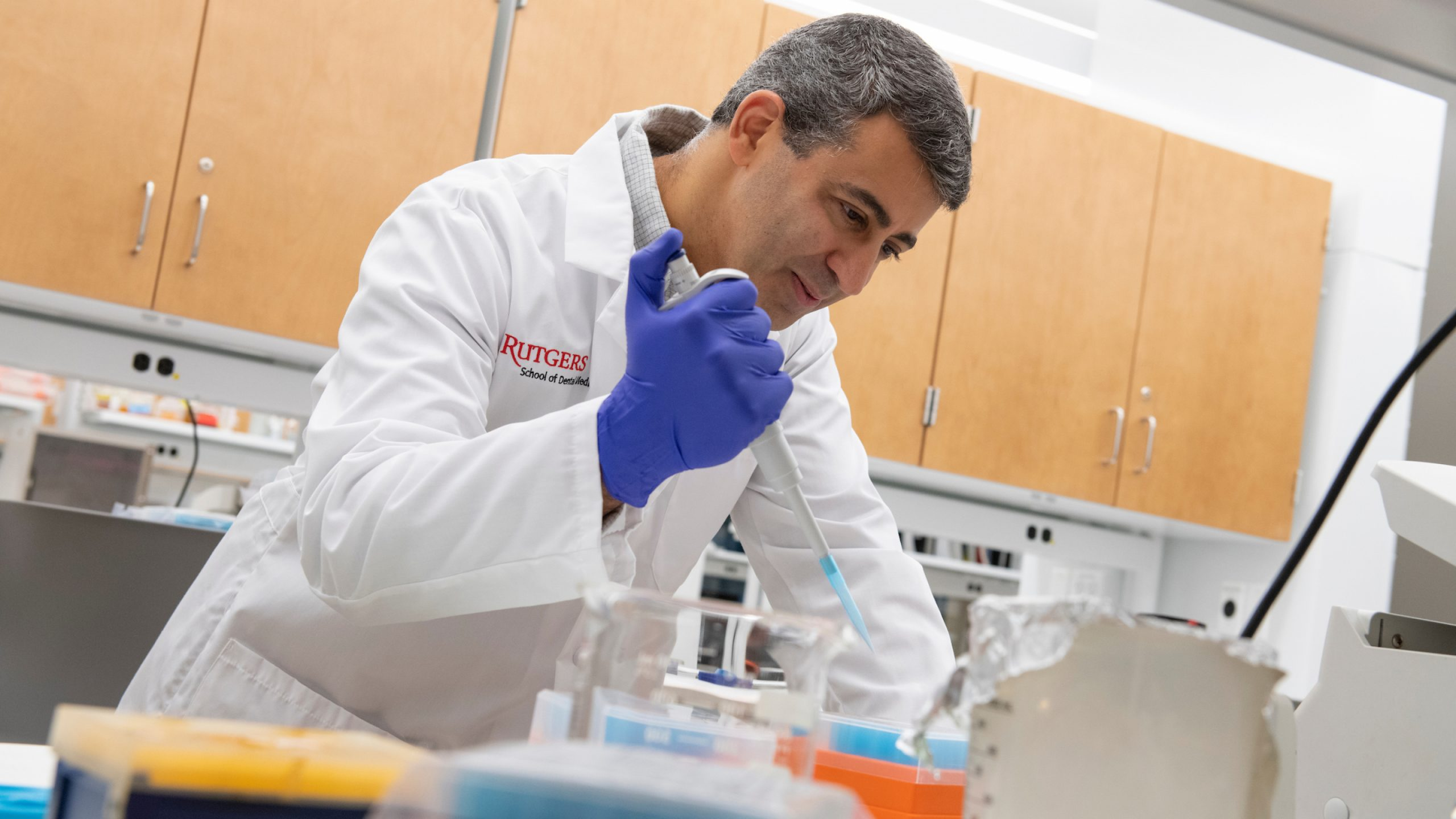 Rutgers School of Dental Medicine researcher Scott Kachlany received U.S. Food and Drug Administration (FDA) approval to begin a phase I clinical trial to treat cancer patients with a therapy based on Kachlany's discovery that a protein produced by an oral bacterium can kill leukemia and lymphoma cells.